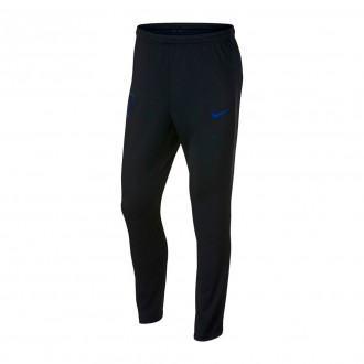Pantalón largo  Nike Inglaterra Dry Squad 2017-2018 Black-Blackened blue-Sport royal