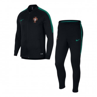 Chándal  Nike Portugal Dry Squad 2018-2019 Black-Kinetic green