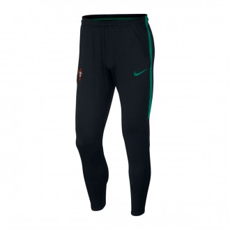 Pantalon  Nike Portugal Dry Squad 2018-2019 Black-Kinetic green