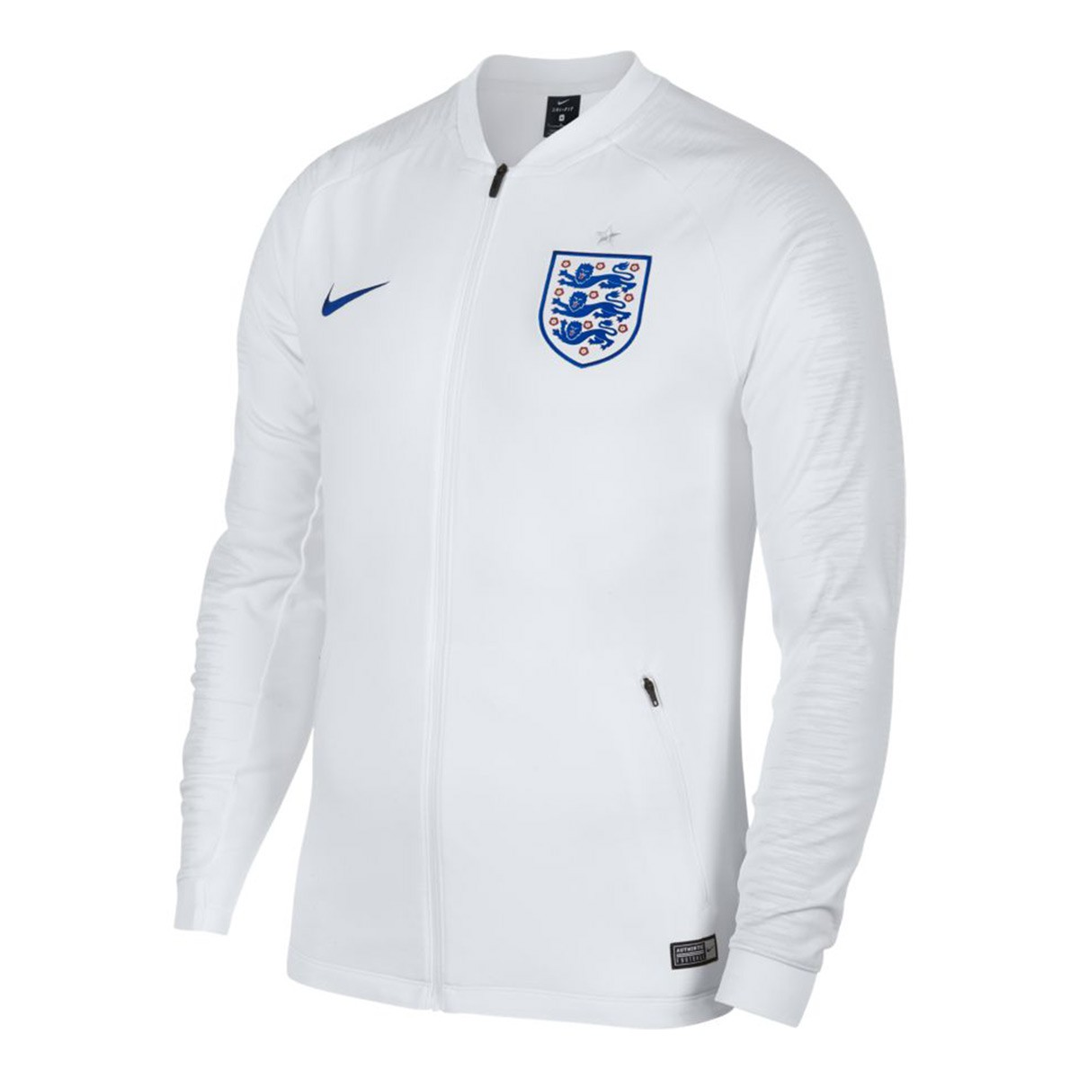 a6502121ce351 Chaqueta Nike Inglaterra Pre-Match 2018-2019 White-Off white-Sport royal -  Tienda de fútbol Fútbol Emotion