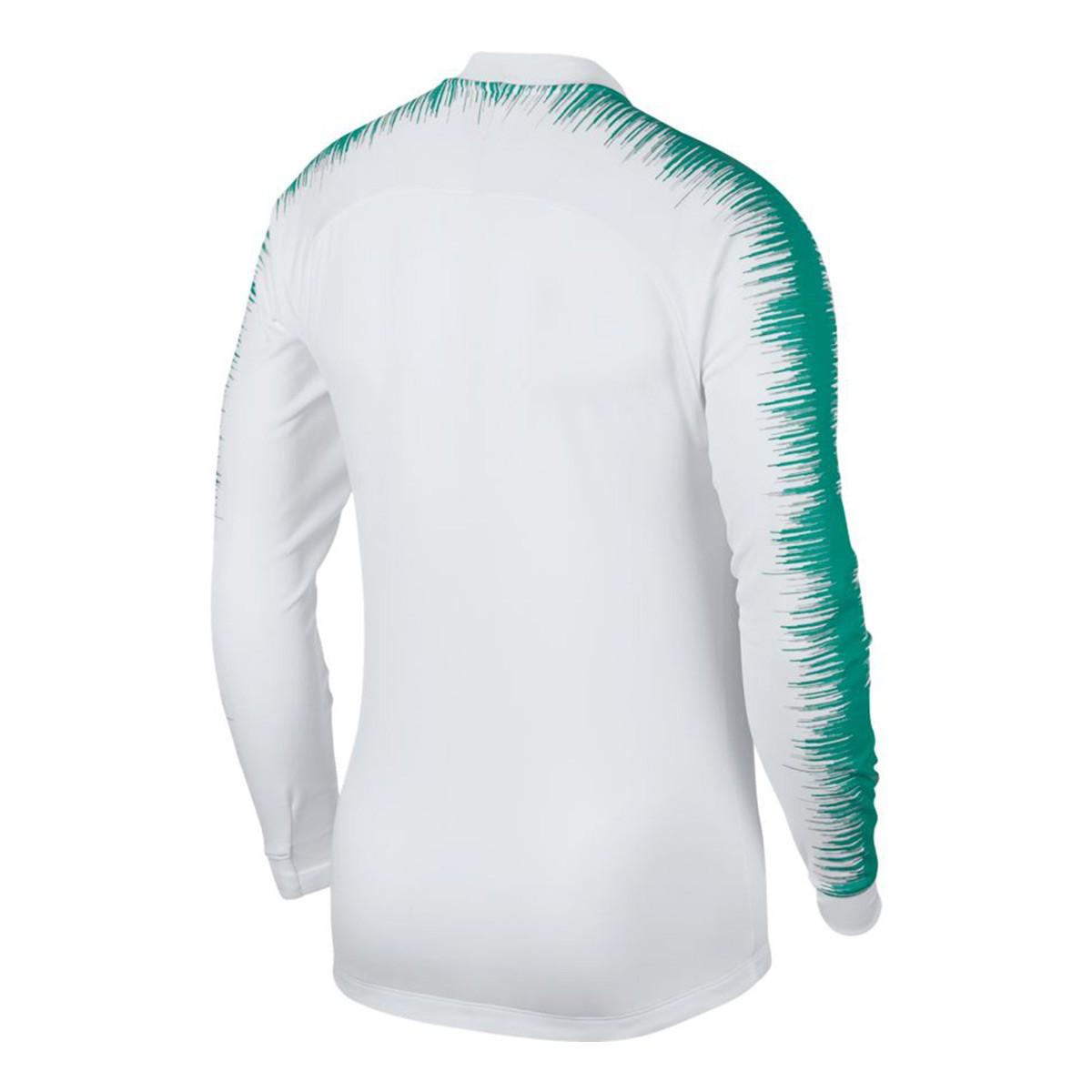 7433873a56c20 Chaqueta Nike Portugal Pre-Match 2018-2019 White-Kinetic green-Gym red -  Tienda de fútbol Fútbol Emotion