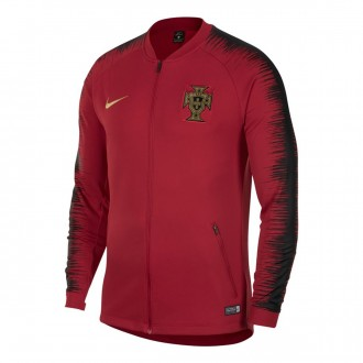 Casaco  Nike Portugal Pre-Match 2018-2019 Gym red-Black