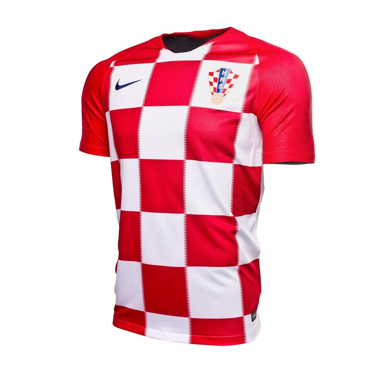 a837b3581095 Jersey Nike Croatia Breathe Stadium 2018-2019 Home Kit University ...