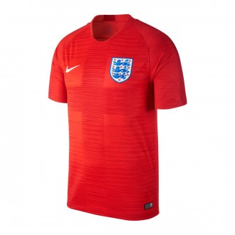 Jersey  Nike England Stadium 2018-2019 Away Challenge red-Gym red-White