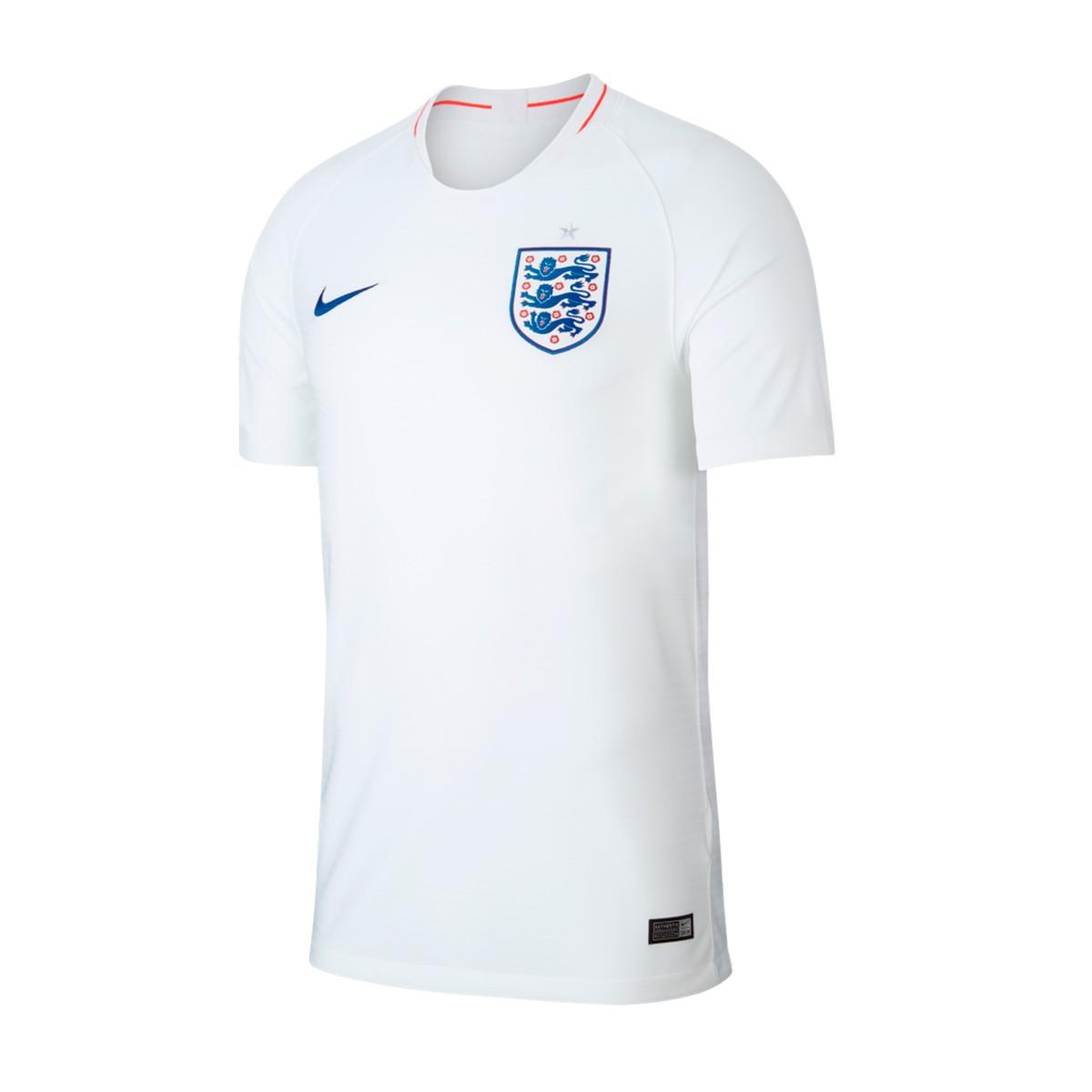 67550cbd07cd8 Camiseta Nike Inglaterra Breathe Stadium Primera Equipación 2018-2019  White-Sport Royal - Tienda de fútbol Fútbol Emotion