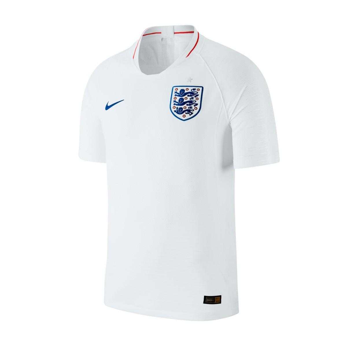 4fd9c010690 Jersey Nike England Vapor 2018-2019 Home White-Sport Royal - Tienda de  fútbol Fútbol Emotion