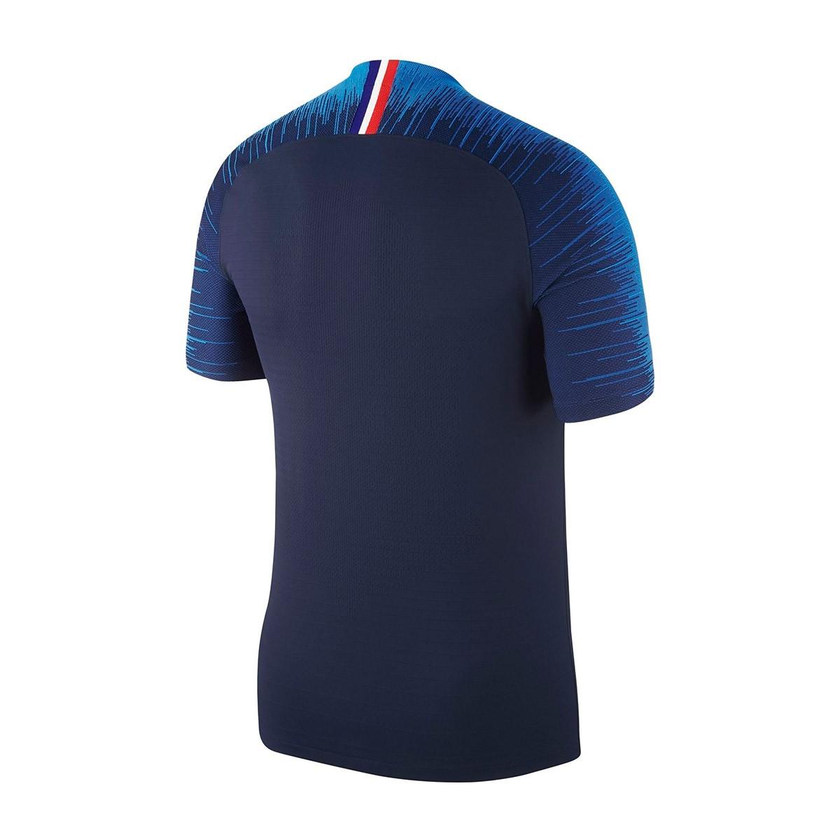 pretty nice 8c176 d210a Playera Nike Francia Vapor Primera Equipación 2018-2019 Obsidian-White -  Soloporteros es ahora Fútbol Emotion