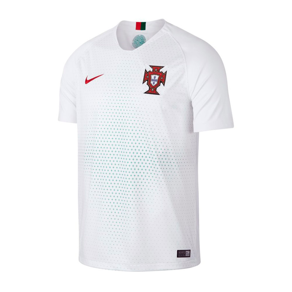 Camiseta Nike Portugal Breathe Stadium Segunda Equipación 2018-2019  White-Gym red - Soloporteros es ahora Fútbol Emotion 22b3d8f462a68