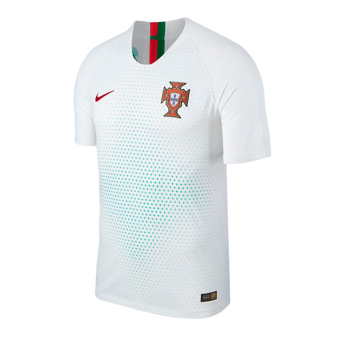 Jersey Nike Portugal Vapor 2018-2019 Away White-Gym red - Football ... 550c58d56