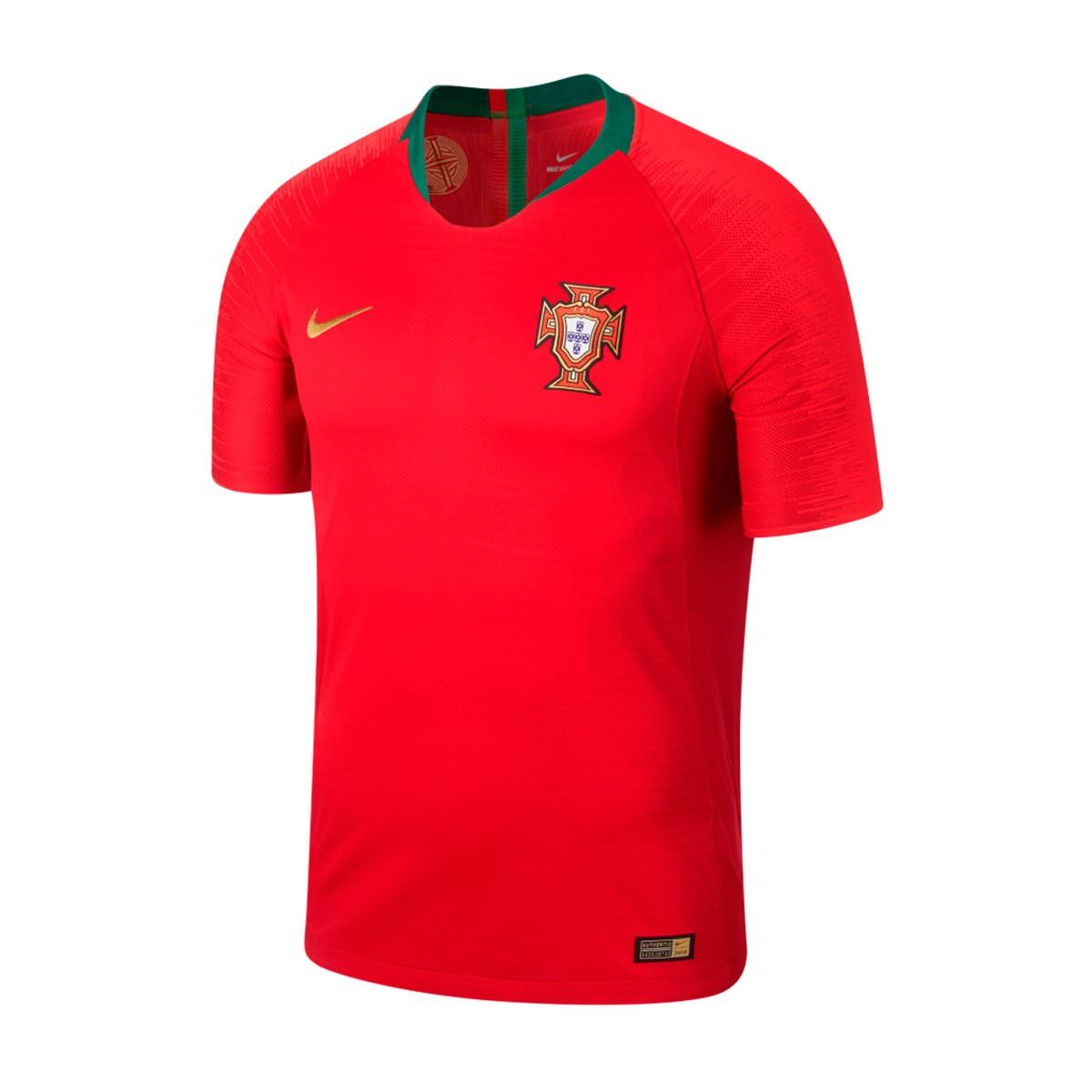 83f6d4d48f Maillot Nike Portugal Vapor Tenue Domicile 2018-2019 Gym red - Boutique de  football Fútbol Emotion