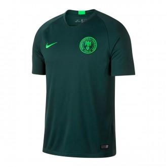 Camiseta  Nike Nigeria Breathe Stadium Segunda Equipación 2018-2019 Pro green-Green strike