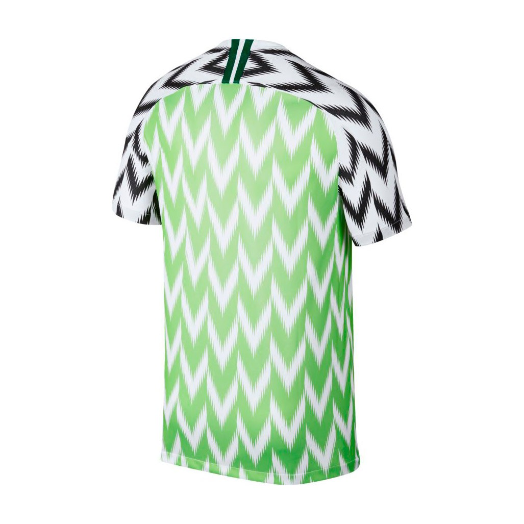 Camiseta Nike Nigeria Breathe Stadium Primera Equipación 2018-2019  White-Black - Soloporteros es ahora Fútbol Emotion 0048e7bb21e66