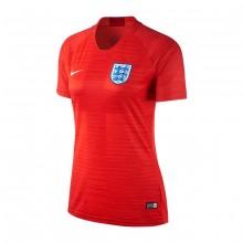Camiseta Inglaterra Stadium Segunda Equipación 2018-2019 Mujer Challenge red-Gym red-White