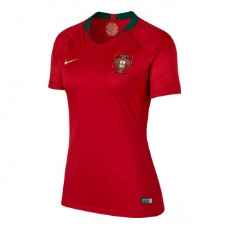 Maillot  Nike Portugal Breathe Stadium Domicile 2018-2019 femme Gym red