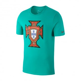 Maillot  Nike Portugal Evergreen 2018-2019 Kinetic green