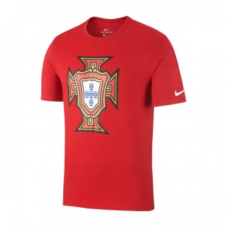 Maillot  Nike Portugal Evergreen 2018-2019 Gym red