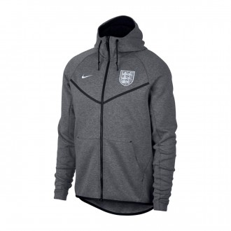 Casaco  Nike Inglaterra Windrunner 2018-2019 Carbon heather-Black-White