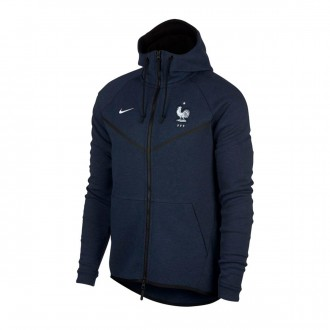 Chaqueta  Nike Francia Windrunner 2018-2019 Obsidian heather-White