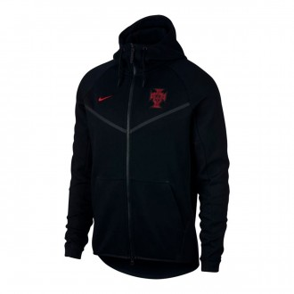 Chaqueta  Nike Portugal Windrunner 2018-2019 Black-Gym red