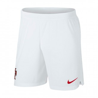 Short  Nike Portugal Vapor Segunda Equipación 2018-2019 White-Gym red