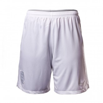 Short  Nike Exterieur Angleterre Breathe Stadium 2018-2019 White-Pure platinum
