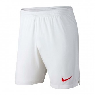 Short  Nike Portugal Breathe Stadium Extérieur 2018-2019 White-Gym red