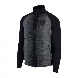 Veste  Nike Portugal Tech Knit 2018-2019 Noir