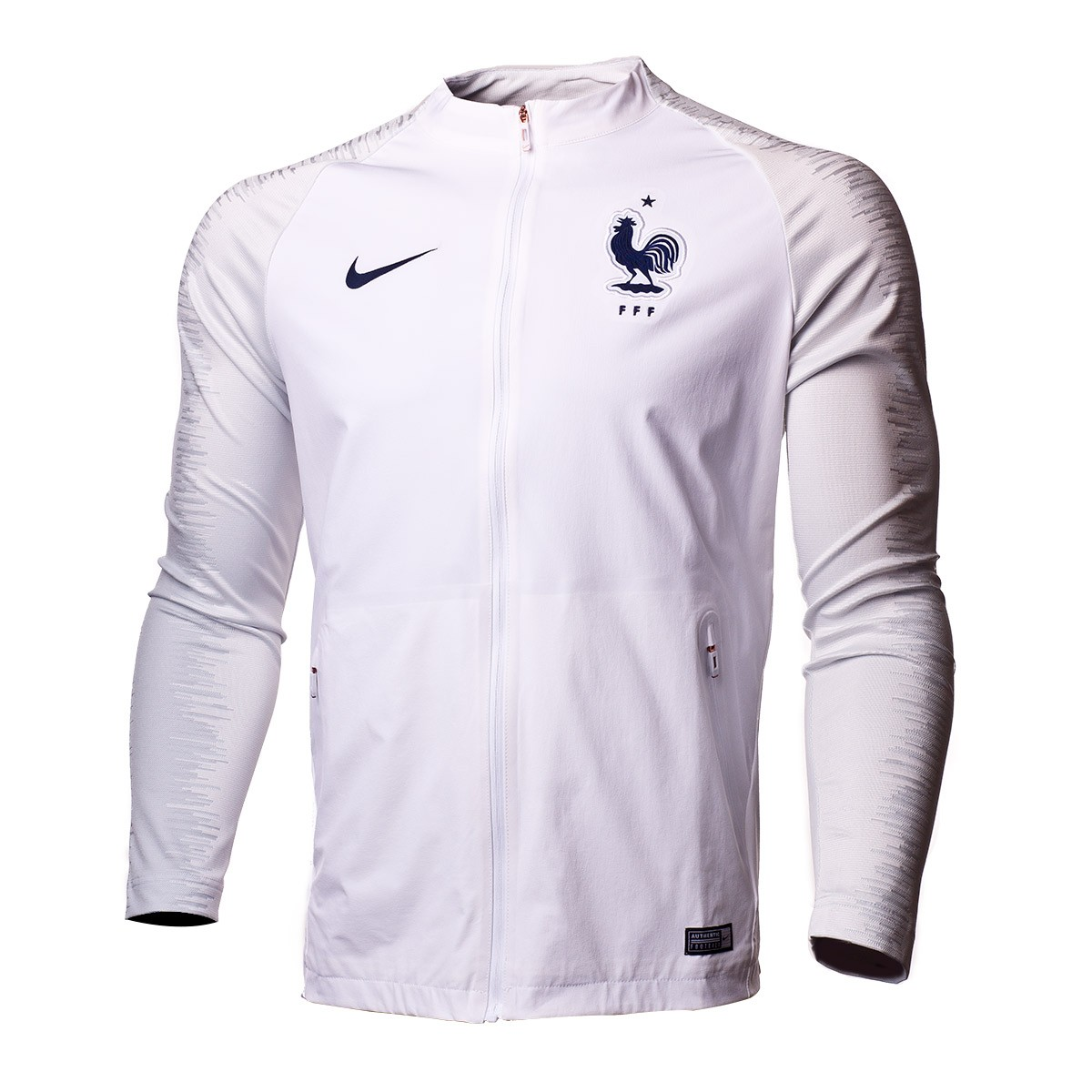 super popular ebe48 b86a0 Chaqueta Francia Pre-Match Strike 2018-2019 White-Pure platinum-Obsidian
