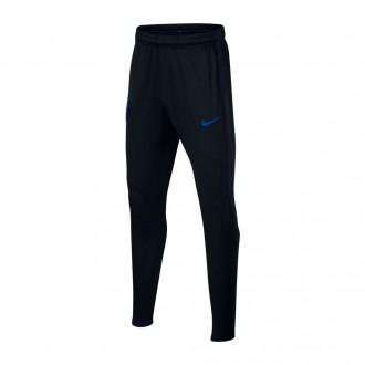 Pantalón largo  Nike Inglaterra Dry Squad 2017-2018 Niño Black-Blackened blue-Sport royal