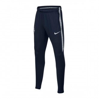 Tracksuit bottoms  Nike Kids France Dry Squad 2018-2019  Obsidian-White