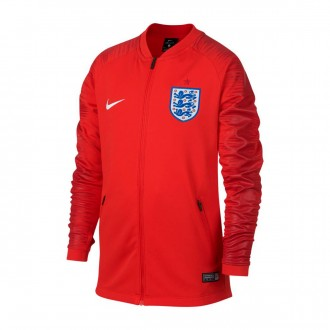 Jacket  Nike Kids England Pre-Match 2018-2019  Challenge red-Gym red-White