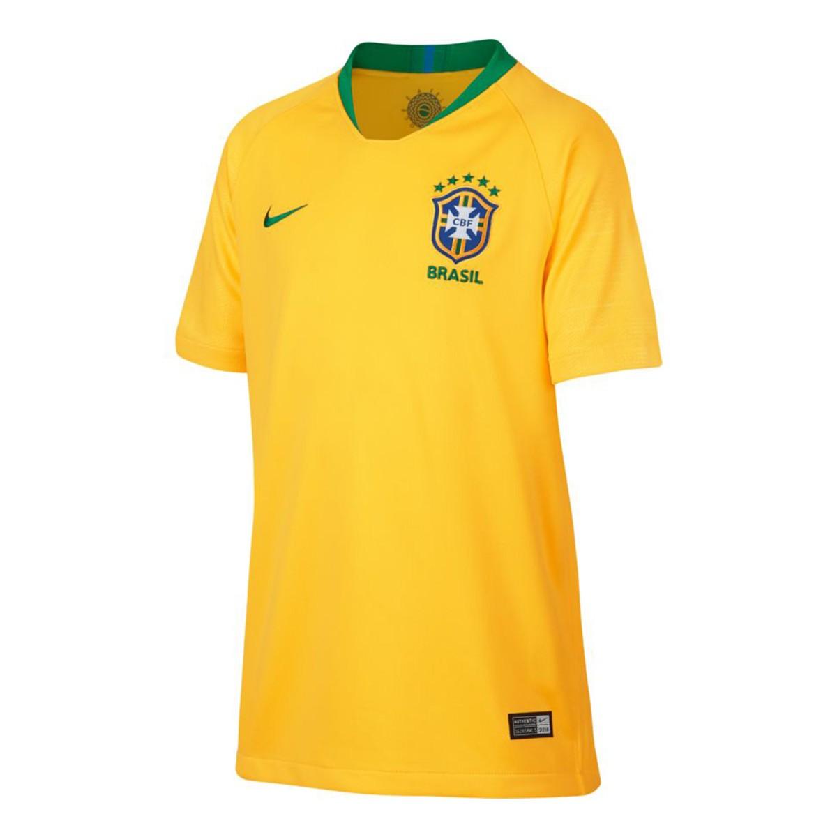 Camiseta Nike Brasil Breathe Stadium Primera Equipación 2018-2019 ... ed5b3e8a07a2d
