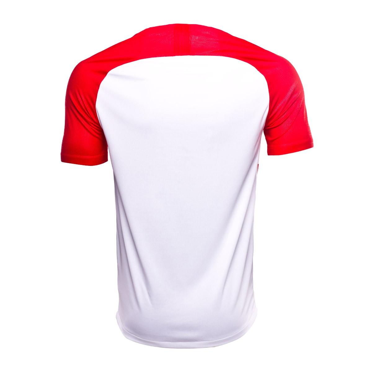 78b77256a184d Camisola Nike Croácia Breathe Stadium Equipamento principal 2018-2019  Crianças University red-White-Deep royal blue - Loja de futebol Fútbol  Emotion