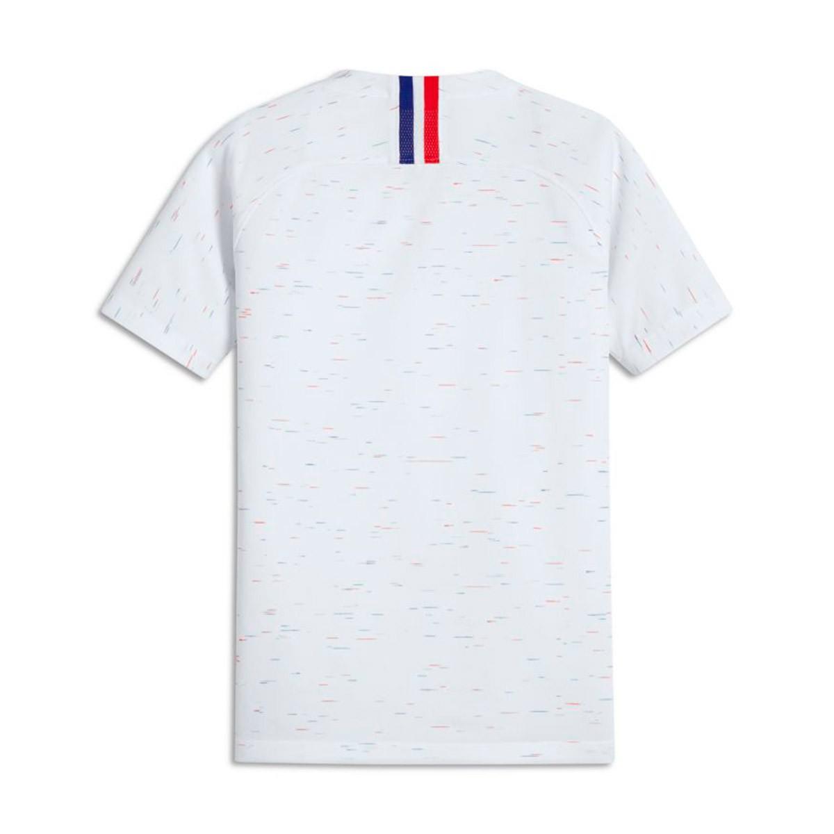 ... Camiseta Francia Breathe Stadium Segunda Equipación 2018-2019 Niño  White-Obsidian. Categorías de la Camiseta 038b658f1e447