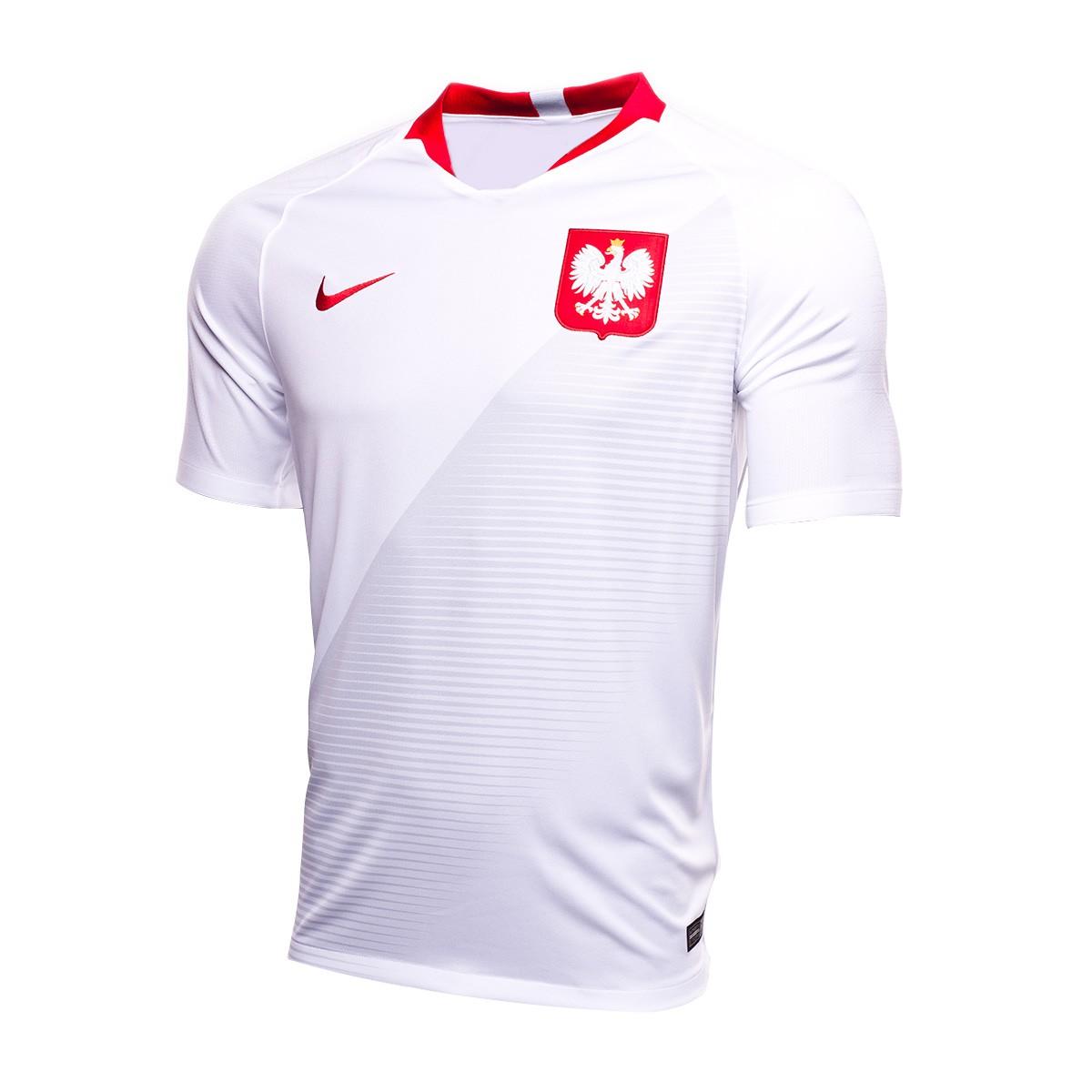 Jersey Nike Kids Poland Breathe Stadium 2018-2019 Home White-Sport ... 68f1fbbcd