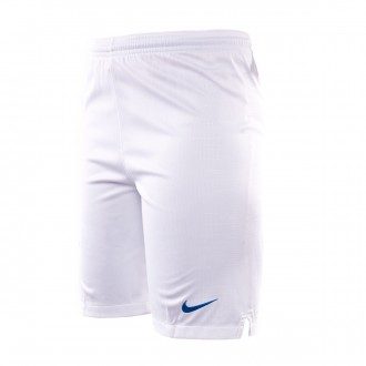 Short  Nike Brasil Breathe Stadium Segunda Equipación 2018-2019 enfant  White-Soar
