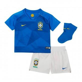 Kit  Nike Infant Brazil Breathe 2018-2019 Away Soar-Midwest gold