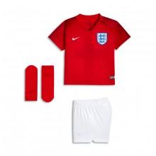 Conjunto Bebé Inglaterra Segunda Equipación 2018-2019 Challenge red-White