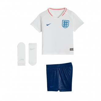 Kit  Nike Infant England Breathe 2018-2019 Home White-Sport Royal