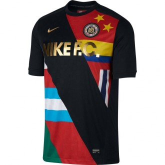 Camiseta  Nike Nike F.C. Black-White