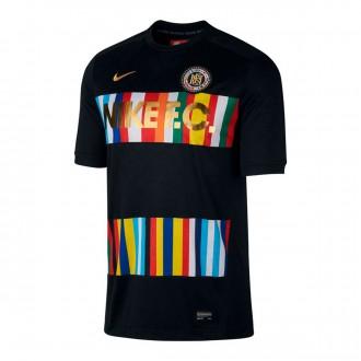 Camiseta  Nike Nike F.C. Black-Racer bue