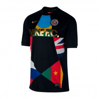 Camisola  Nike Nike F.C. Black-University red
