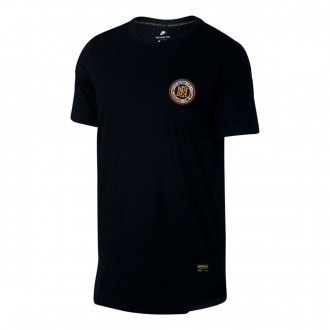 Camisola  Nike Nike F.C. Flag Black-Metallic gold