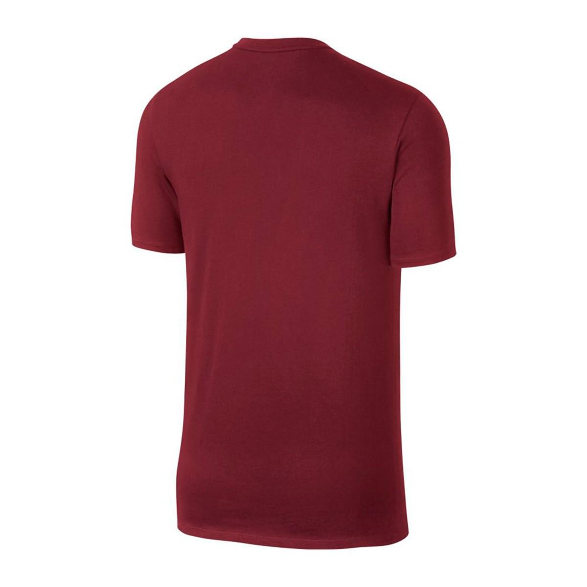 40d45b5a27de2 Jersey Nike Nike F.C. Swoosh Flag Team red-Metallic gold - Football ...