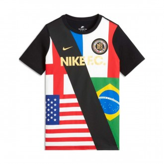 Camiseta  Nike Flag Niño White