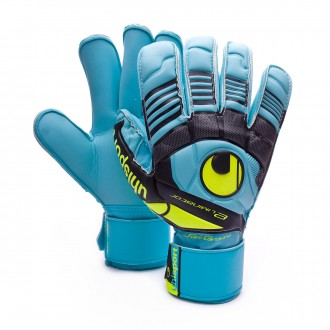 Guante  Uhlsport Eliminator Soft RF Comp Cyan-Amarillo