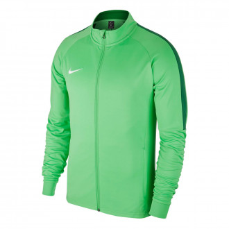 Chamarra  Nike Dry Academy 18 Niño Light green spark-Pine green-White
