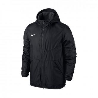 Abrigo  Nike Football Niño Black-Anthracite-White
