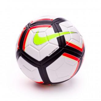 Balón  Nike Strike Team Football (290gr) White-Total crimson-Black-Volt