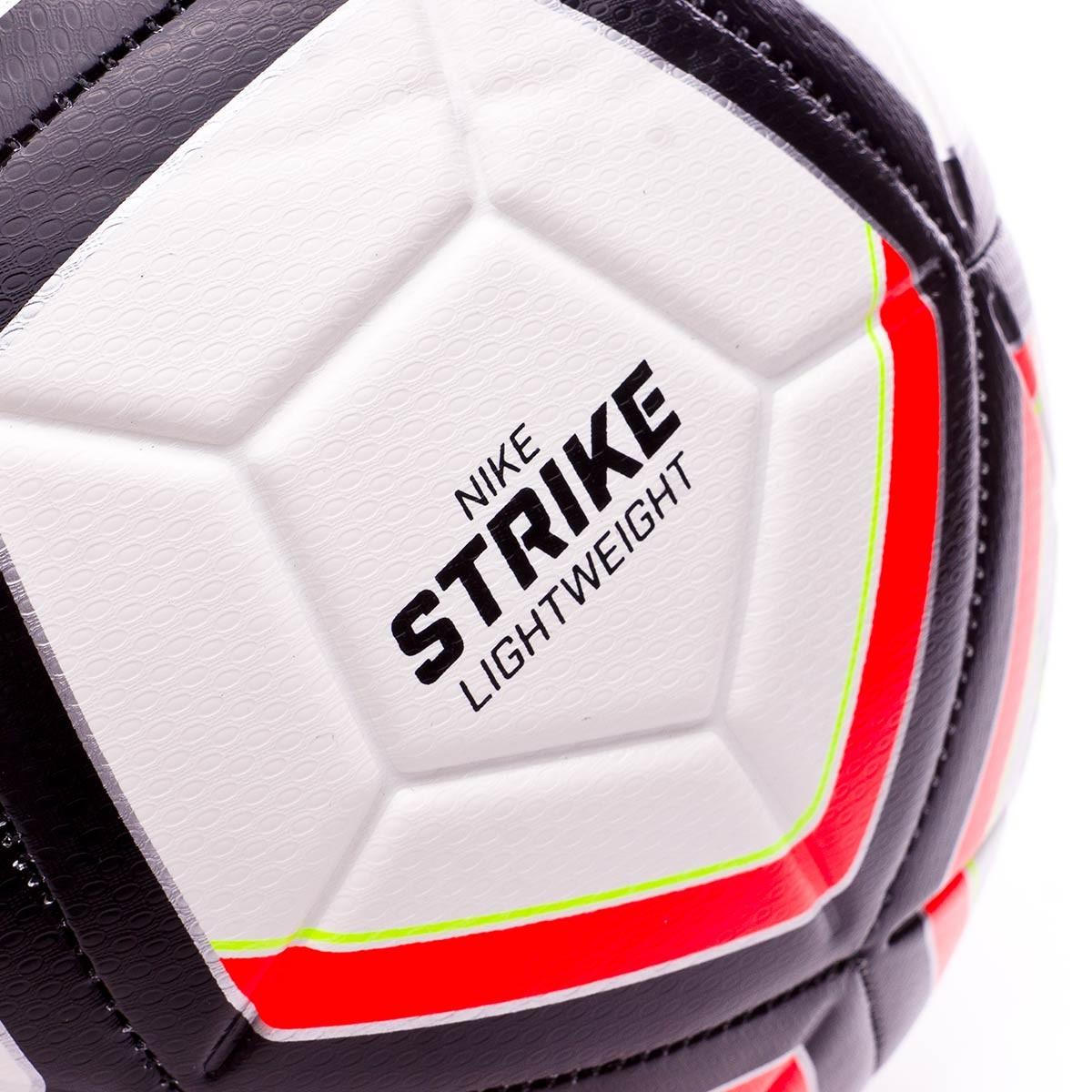 Destino Guijarro veneno  Balón Nike Strike Team Football (290gr) White-Total crimson-Black-Volt -  Tienda de fútbol Fútbol Emotion